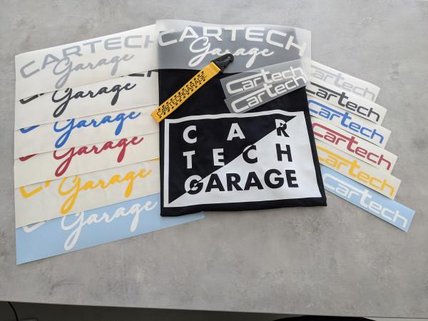 CarTech Mega Bundle T-Shirt Limited + WSS-Banner + Sticker + Schlüsselanhänger