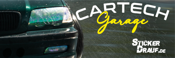 CarTech Garage BMW E46 Touring Sticker