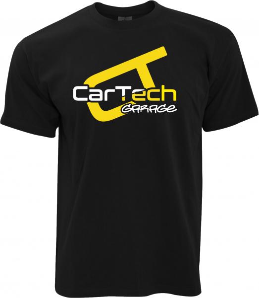 CarTech Garage - Weiß/Gelb groß